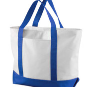 Liberty Bags Bay View Giant Nylon Zippered Boat Tote