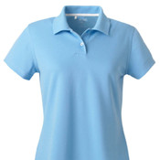 adidas Golf Ladies' ClimaLite® Textured Short-Sleeve Polo