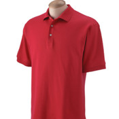 Devon & Jones Men's  Solid Perfect Pima Interlock Polo