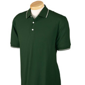 Devon & Jones Men's  Pima Pique, Short-Sleeve Tipped Polo