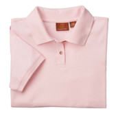 Harriton Ladies'  6 oz. Ringspun Cotton Pique Short-Sleeve Polo