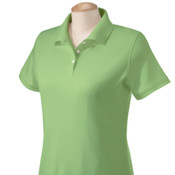 Devon & Jones Ladies'  Solid Perfect Pima Interlock Polo