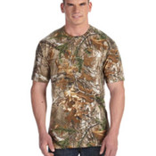 Code V Officially Licensed REALTREE® Camouflage Short-Sleeve T-Shirt Pocket Tee