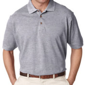 UltraClub Men's Classic Piqué Polo