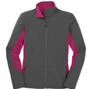 Port Authority Ladies Core Colorblock Soft Shell Jacket