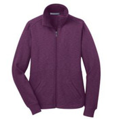 Port Authority Ladies Slub Fleece Full-Zip Jacket