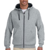 Jerzees 8 oz., 50/50 NuBlend Contrast Full-Zip Hood