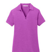 Port Authority Ladies Digi Heather Performance Polo