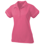 SportTek Ladies Contrast Stitch Micropique Sport Wick® Polo
