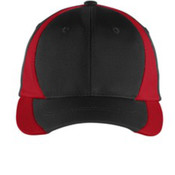 Sport-Tek Dry Zone Nylon Colorblock Cap