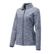 Sport-Tek Ladies PosiCharge Electric Heather Soft Shell Jacket