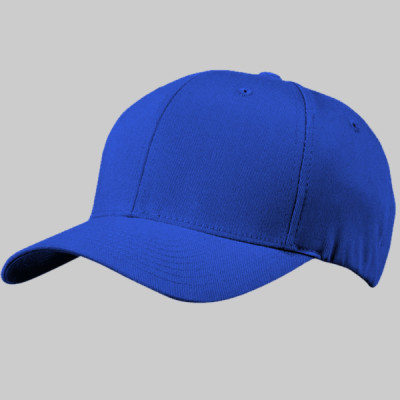 Yupoong 6-Panel FITTED Structured Mid-Profile Cap