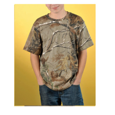 Code V Youth Officially Licensed REALTREE®  Camouflage Short Sleeve T-Shirt