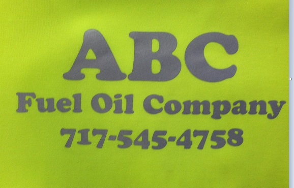ABC Fuel Oil Logo Reflective
